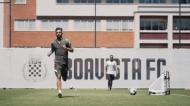 Bruno Fernandes treinou no Bessa (Boavista)