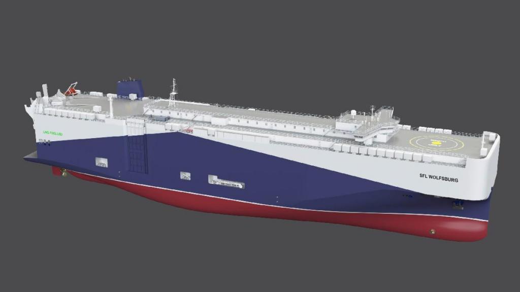 Grupo VW introduz novos navios movidos a GNL na sua frota