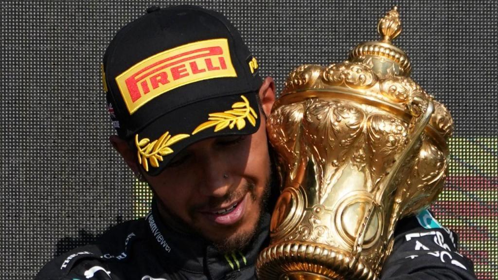 Lewis Hamilton vence GP da Grã-Bretanha (AP)