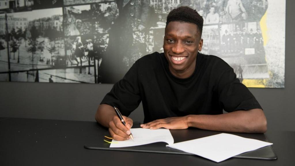 Abdoulaye Kamara (twitter Dortmund)