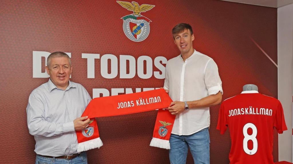 Jonas Källman (Benfica)