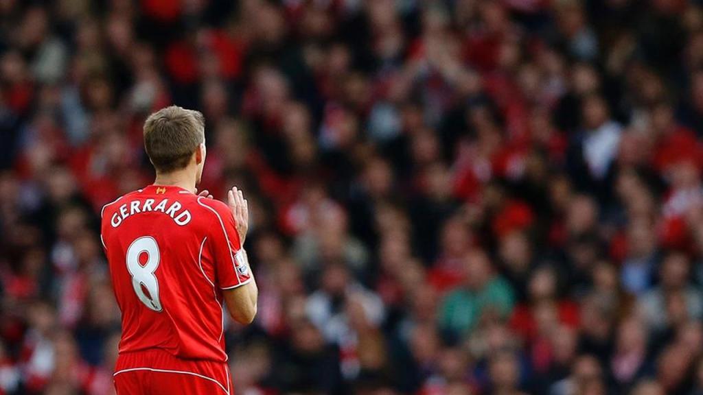 Steven Gerrard no Liverpool