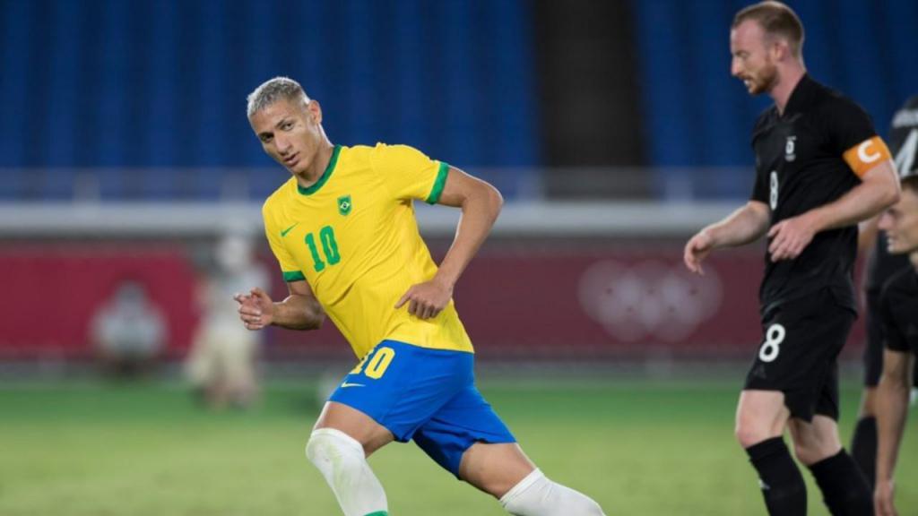 Richarlison Brasil Jogos Olímpicos Tóquio 2020