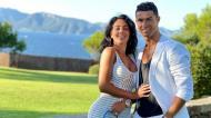 Cristiano Ronaldo e Georgina (instagram)