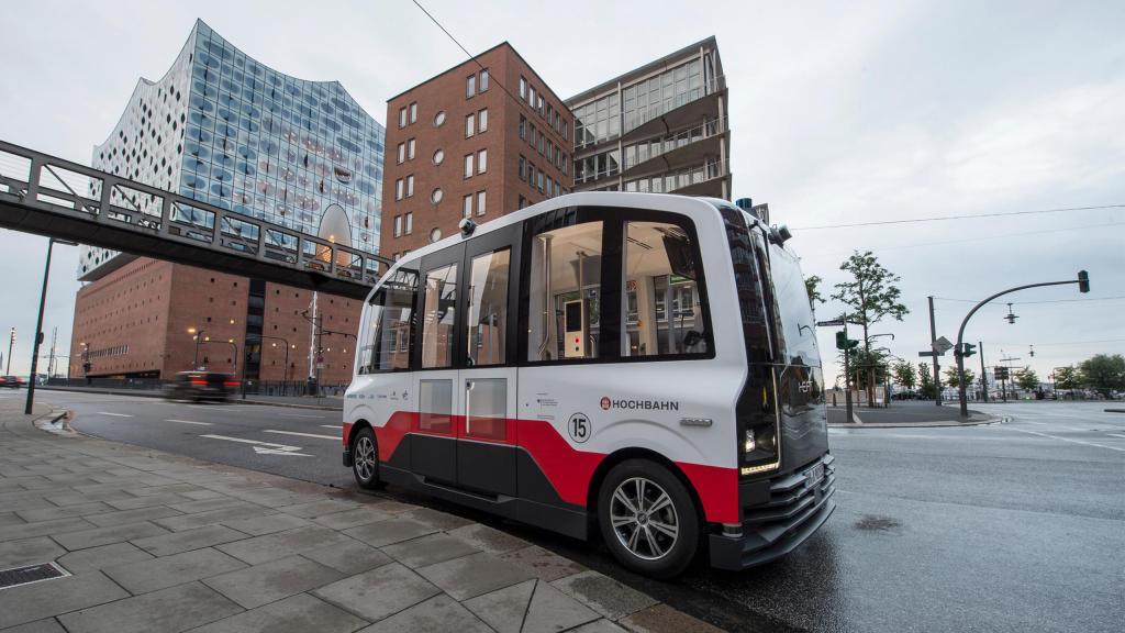 Projeto de transporte autónomo HEAT em Hamburgo (foto: IAV)