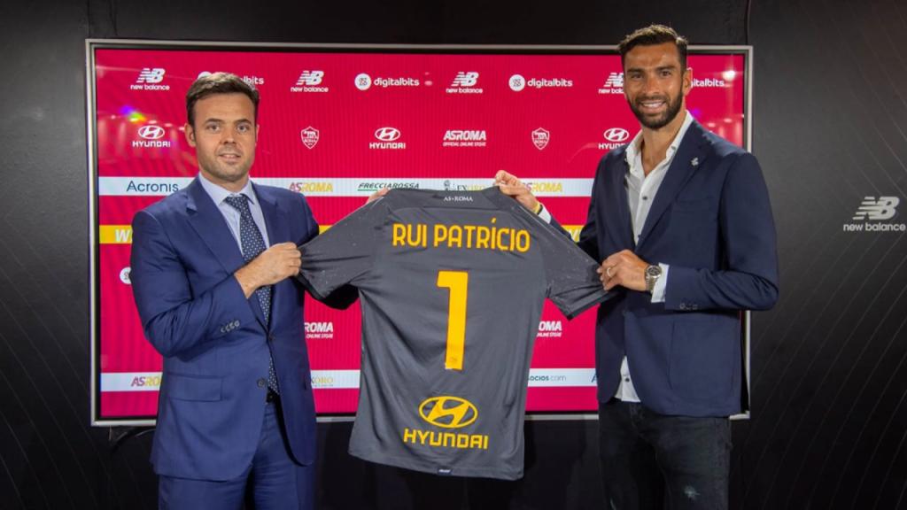 Rui Patrício e Tiago Pinto (Roma)
