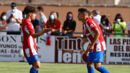 Atlético Madrid-Numancia (twitter)