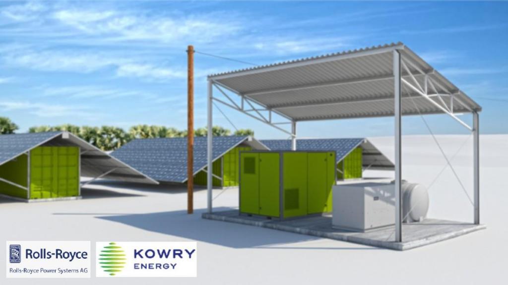 Rolls-Royce Power Systems apoia Kowry Energy em África (fotomontagem)
