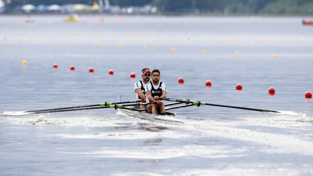 Pedro Fraga e Afonso Costa (AP Photo/Darko Bandic)