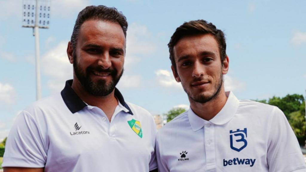 Ricardo Sousa e Afonso Sousa (twitter Liga)