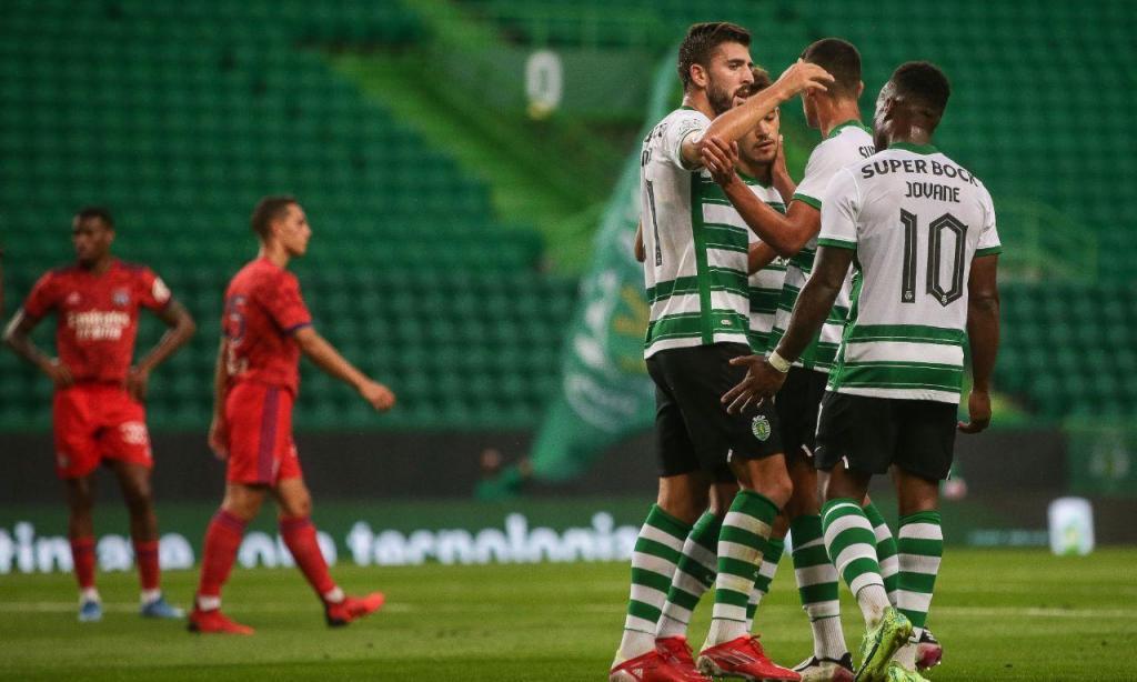 Sporting-Lyon (LUSA)