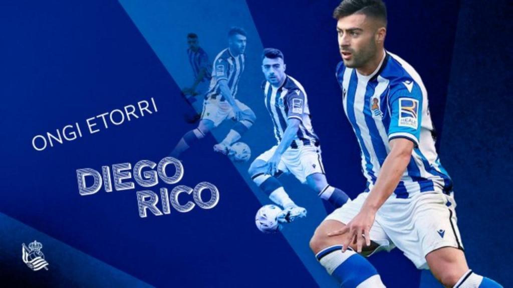 Diego Rico Real Sociedad