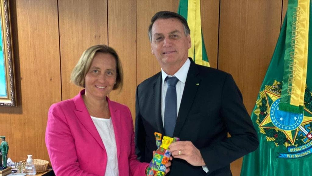 Beatrix von Storch e Jair Bolsonaro