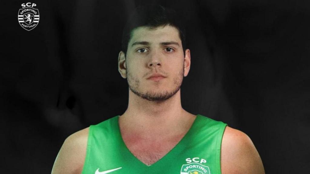 Daniel Relvão reforçou equipa de basquetebol do Sporting (foto SCP)