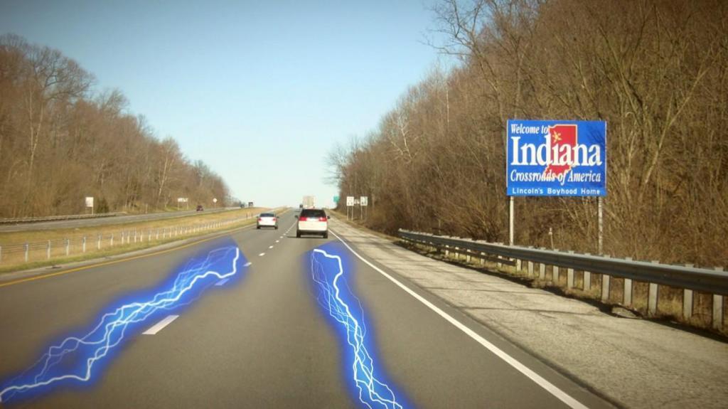 "Carregamento de veículos elétricos na autoestrada via ""wireless"""