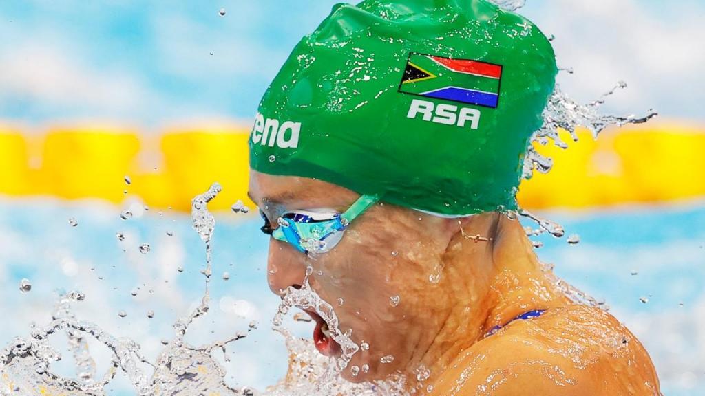 Tatjana Schoenmaker fixou novo recorde olímpico nos 200 metros bruços