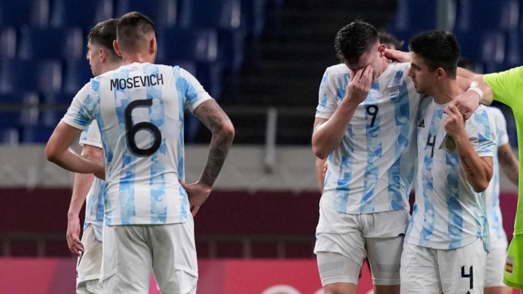 Argentina afastada do torneio olímpico