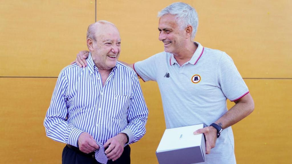 Pinto da Costa e José Mourinho (FC Porto)