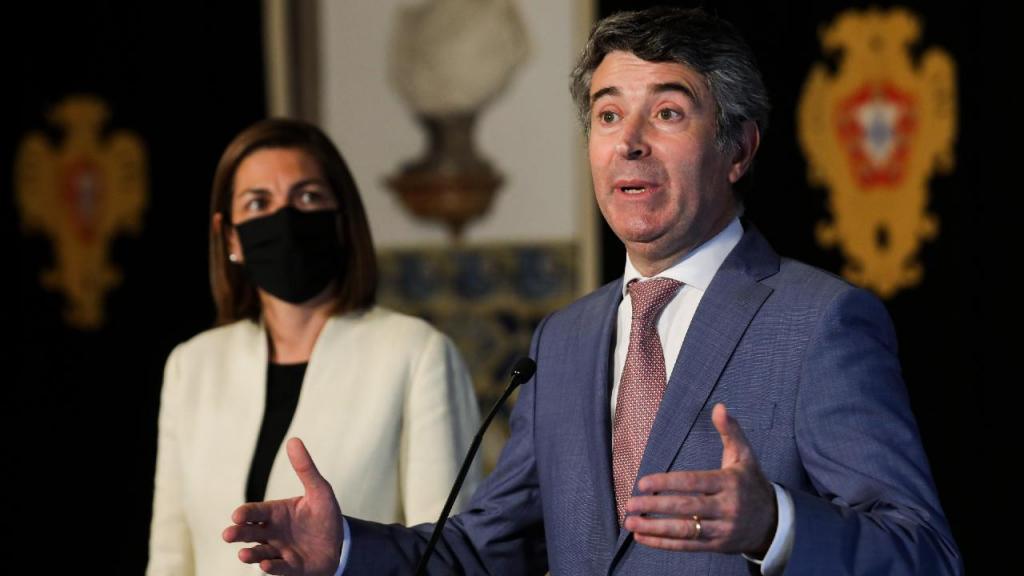 Ana Catarina Mendes e José Luís Carneiro
