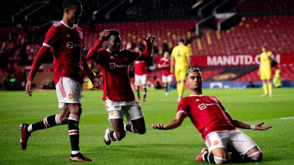Andreas Pereira (twitter Manchester United)