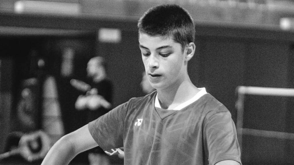 Badminton de luto pelo «adeus» precoce a Tomás Sacramento