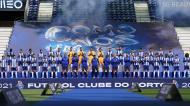 O novo plantel do FC Porto para a época 2021/22