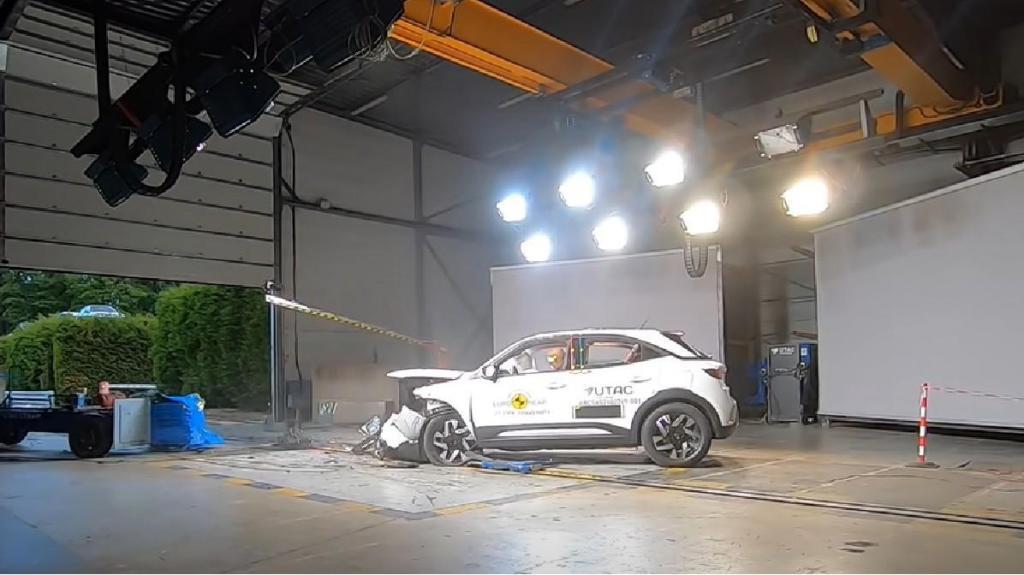 Opel Mokka crash-test EuroNCAP