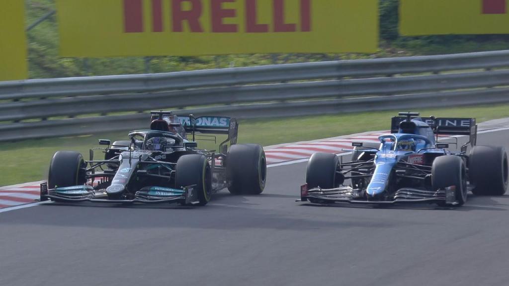 O intenso duelo entre Alonso e Hamilton no Grande Prémio da Hungria