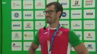 «Ainda não tenho consciência de que ganhei a medalha»