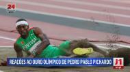 Da política ao desporto: felicitações a Pedro Pichardo surgiram de todo o lado