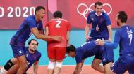 Tóquio2020: França festeja vitória contra a Argentina, na meia-final do voleibol
