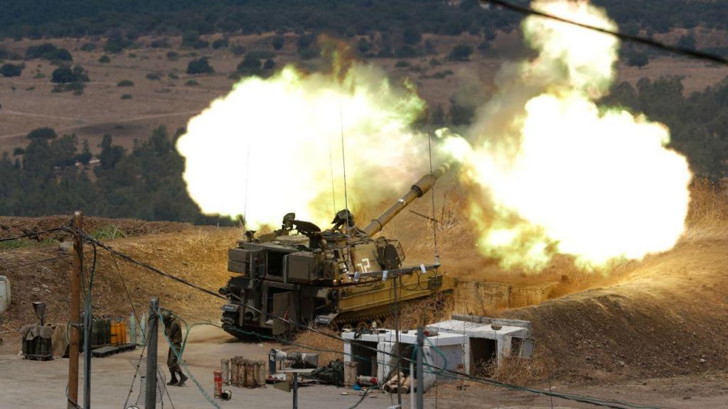 Tensão na fronteira Israel-Líbano