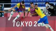 Tóquio2020: Brasil-Espanha (EPA/JEON HEON-KYUN)