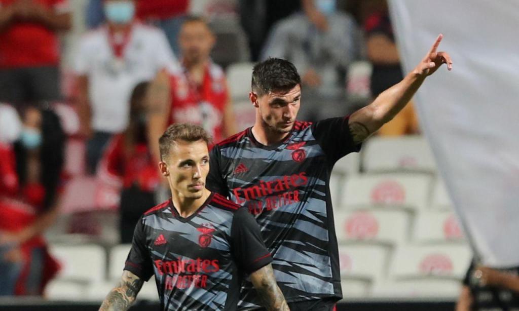 Benfica-Spartak Moscovo (fotos MIGUEL A. LOPES/LUSA)