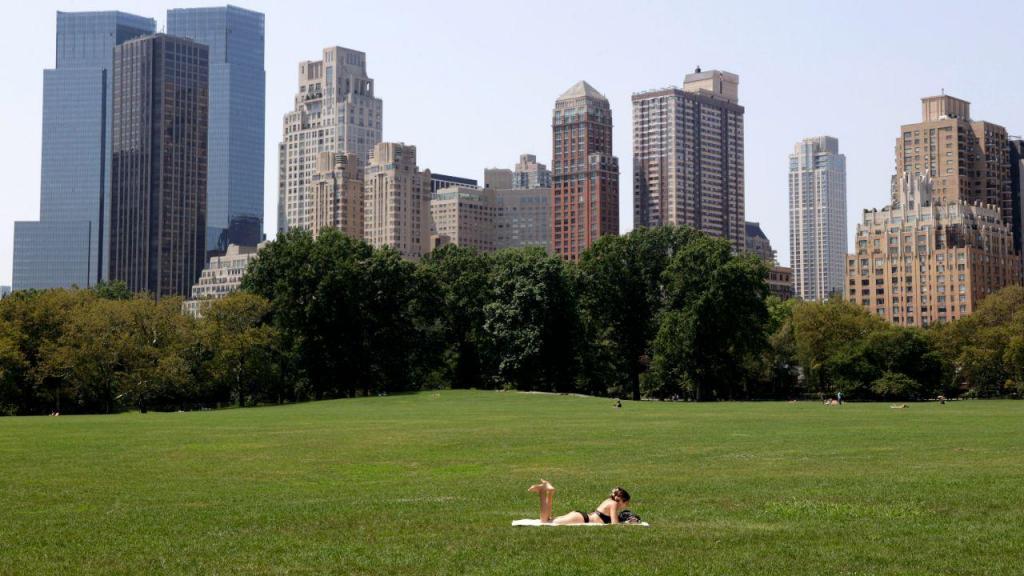 Calor em Nova Iorque