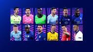 Nomeados para os prémios da Liga dos Campeões 2020/21
