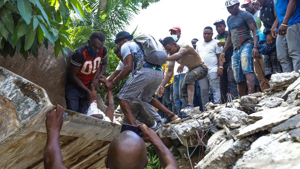 Sismo no Haiti