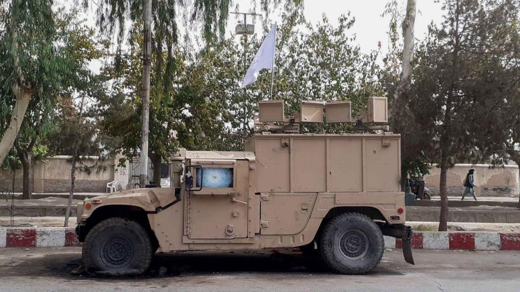 A ofensiva Taliban rumo a Cabul
