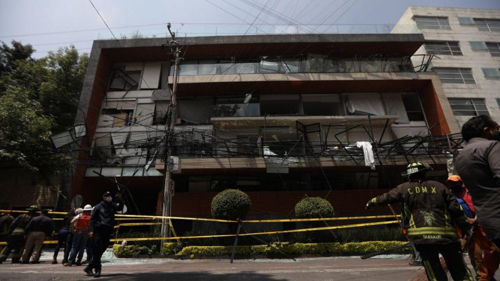Explosão em edifício no México