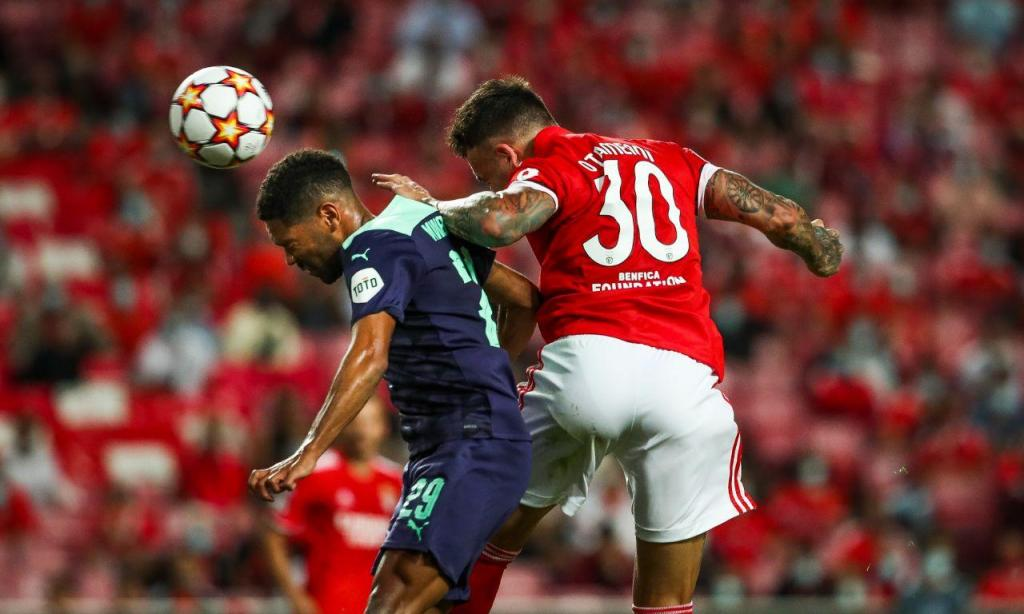Champions: Benfica-PSV Eindhoven, 2-1 (resultado final) | MAISFUTEBOL