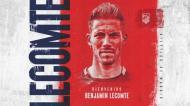 Benjamin Lecomte reforça baliza do Atlético Madrid