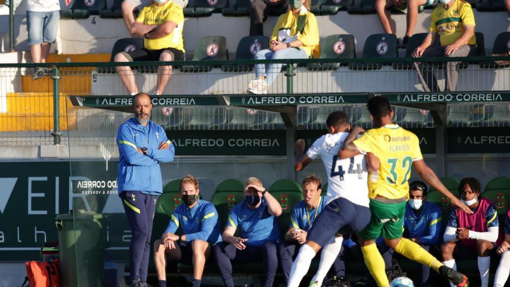 As imagens do P. Ferreira - Tottenham