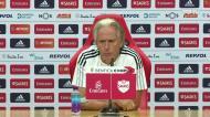 Jorge Jesus: «O Benfica está satisfeito com o plantel que tem»