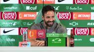 «Competição no plantel do Sporting é saudável... mas palpável»