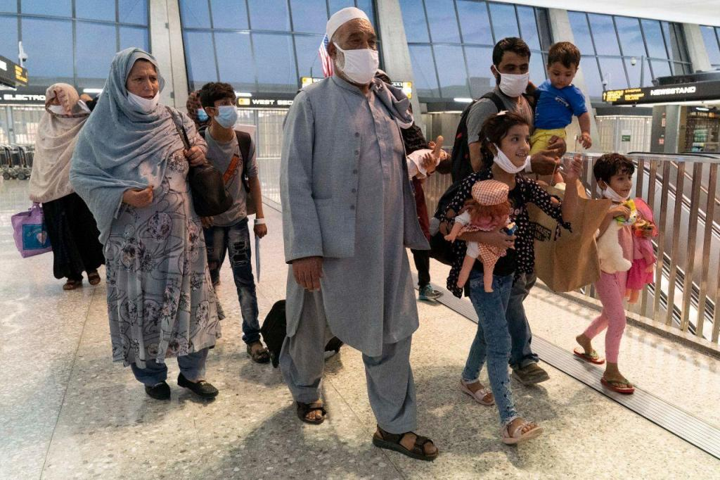 Refugiados afegãos