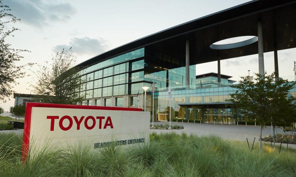 Toyota, sede nos EUA (foto: divulgação)