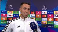 «Deixar o Benfica? Não estou a pensar nisso, estou muito feliz e orgulhoso»