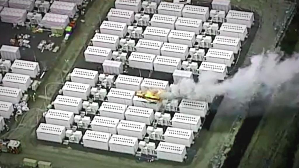 Tesla incendio na Austrália