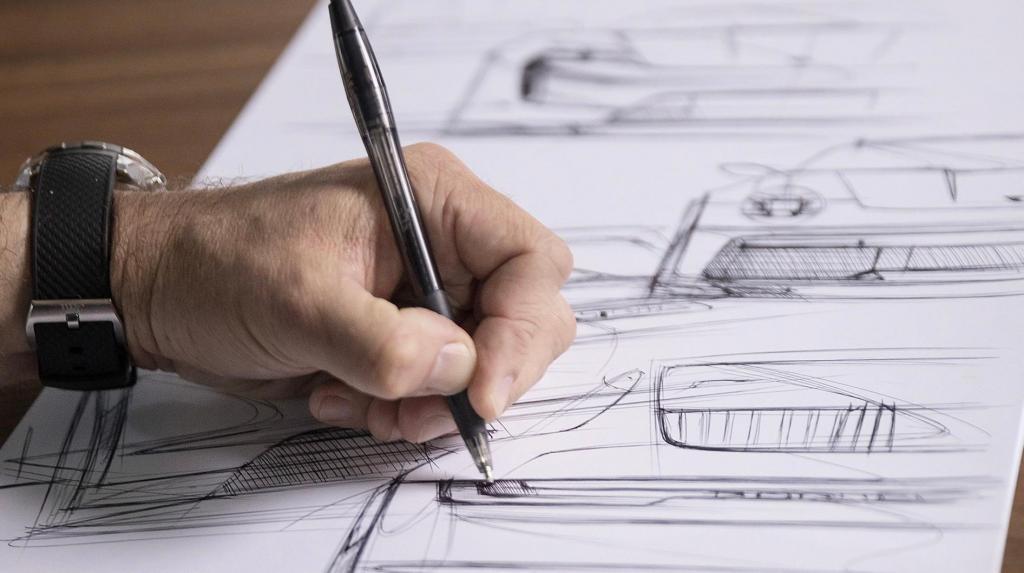Desenho de Peter Varga em leilão