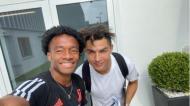 Cuadrado e Ronaldo (foto Instagram)